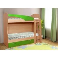 Кровать двухярусная Маугли