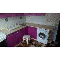 Кухня лиловая